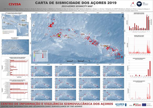 Mapa de sismicidade 2019